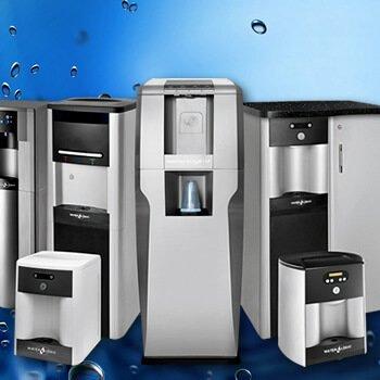 Dystrybutory filtrujące do wody
