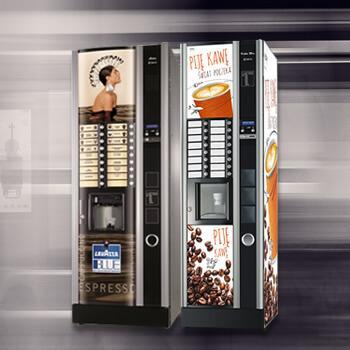 Automaty do kawy i gorących napojów
